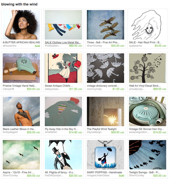Blowing in the wind by BoydemTreasures on Etsy