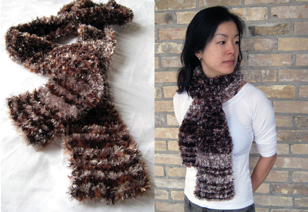 Feature Friday 18: Warm Fuzzy Scarf by Minh Ton