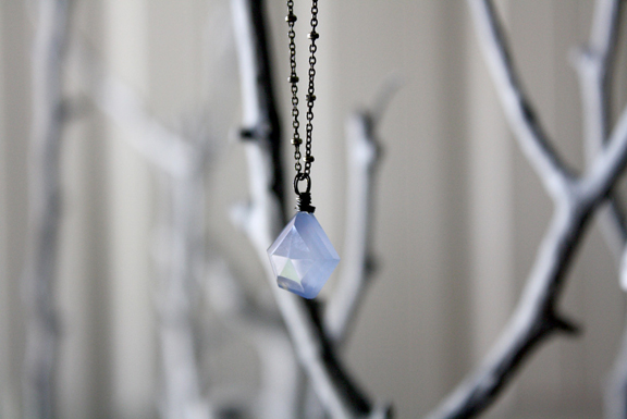 Blue Skies necklace by eNVe Designs