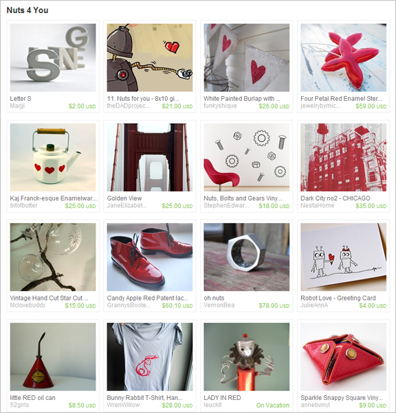 Nuts 4 You etsy Treasury by polkadotmagpie