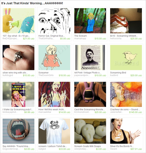 It's Just That Kinda Morning etsy treasury by VintageEye