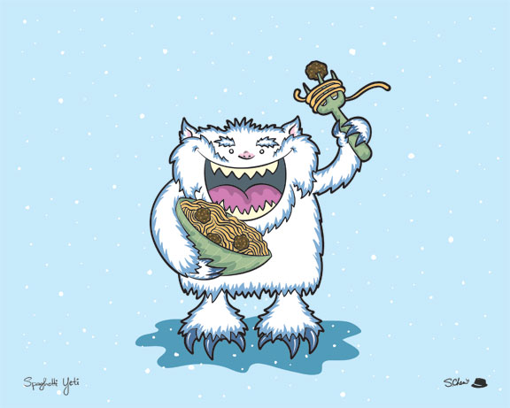 Spaghetti Yeti