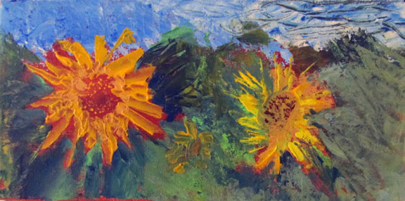 Sunflowers by Sheila Donohue