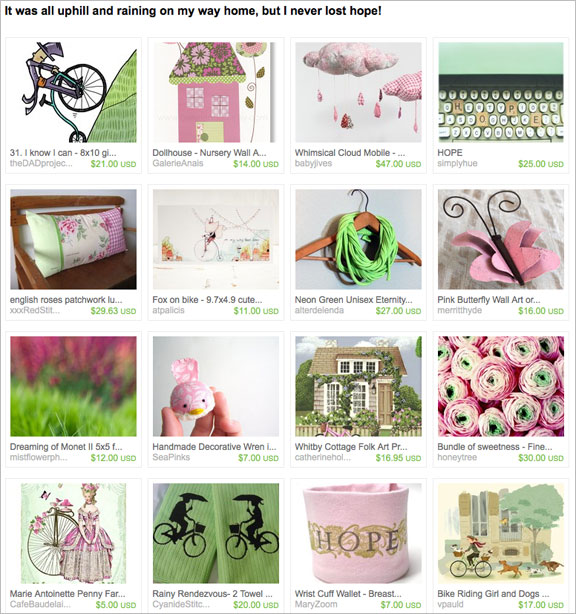 etsy treasury by KandiceinWonderland