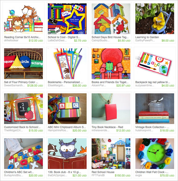 Knowledge is Power etsy treasury by PaintBrushedBoutique
