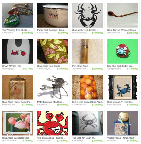 Crab apple etsy treasury by Kristina823