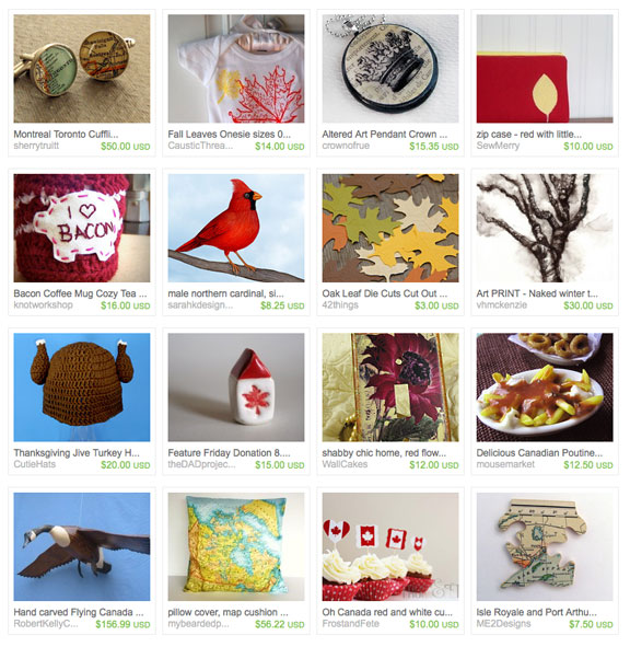 Thanksgiving in the Dominion etsy tresury by bomobob