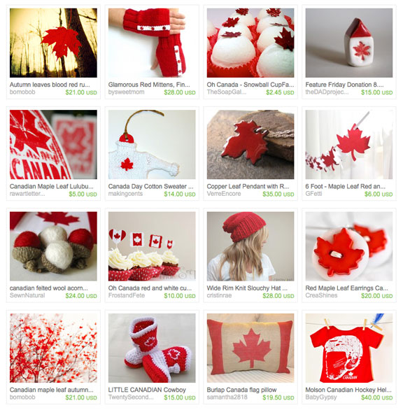 Happy Thanksgiving Eh etsy treasury by amberike